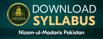 Download Syllabus Nizam-ul-Madaris Pakistan
