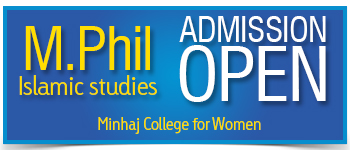 Admission Open - Minhaj College for Women